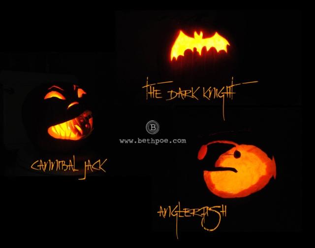 Poe Pumpkins 2013.web